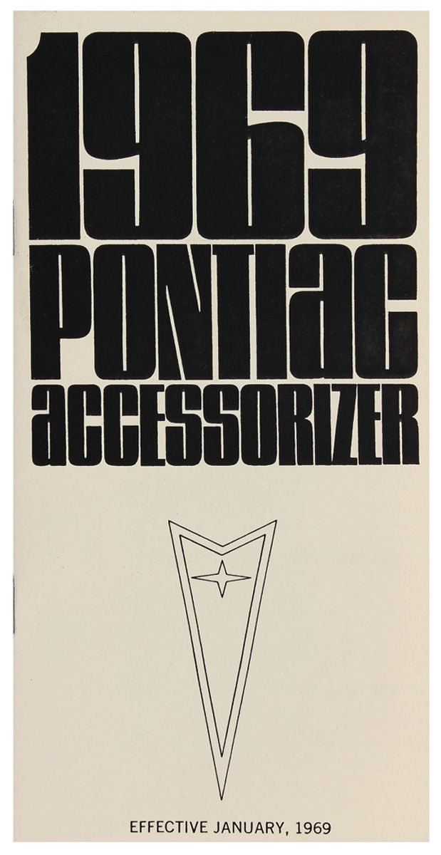 Accessorizer Booklet, 1969 Pontiac