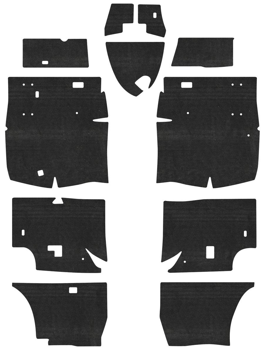 Insulation Kit, Floor Panel, 63-65 Riviera