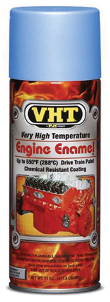 Paint, Hi-Temp Engine, VHT Aluminum NU CAST, 11-oz.
