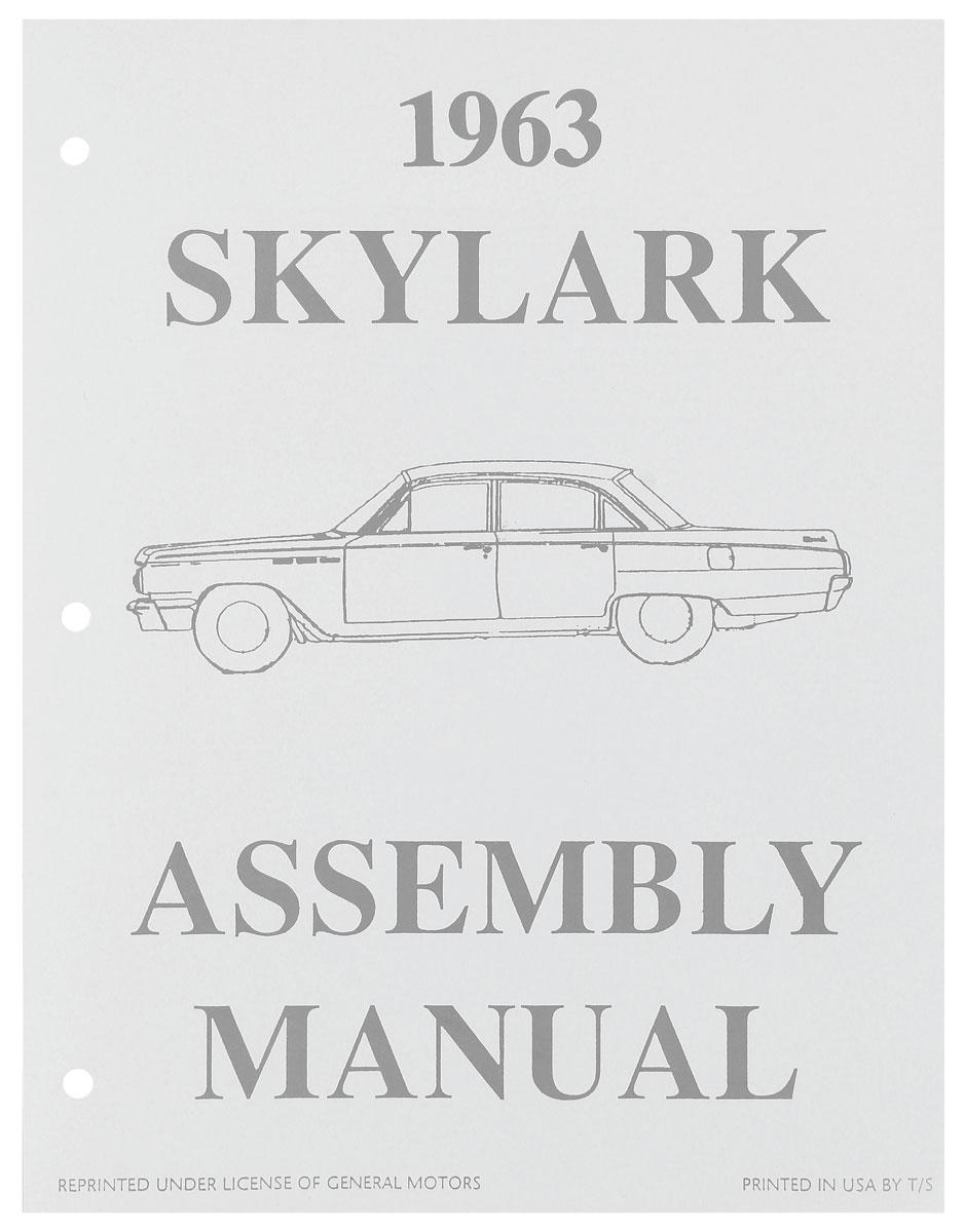 Assembly Manual, 1963 Skylark