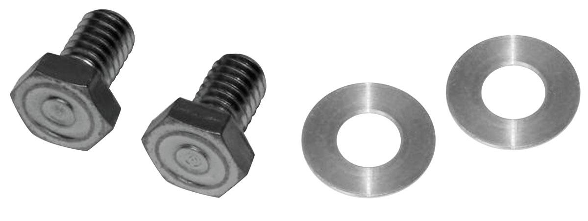 Bolts, Fuel Pump Block Off, 64-77 Pontiac, V8, 4pc