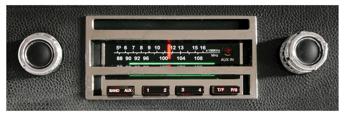 Stereo, 300 Series, 1965-66 Bonn/Cat/GP, Chrome