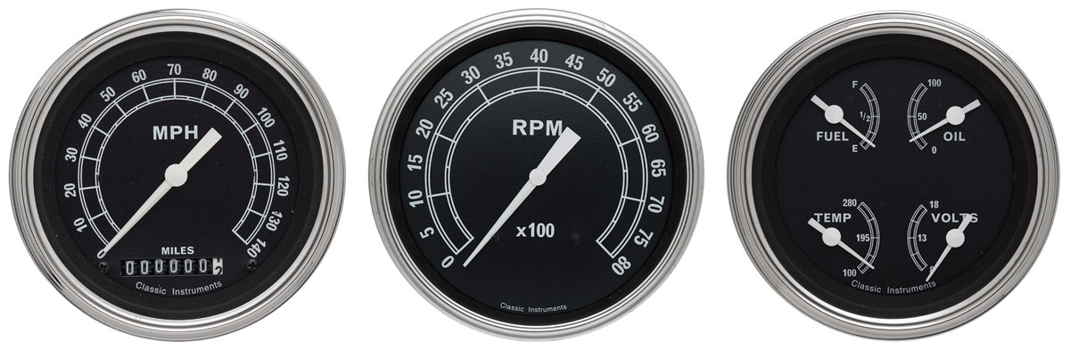 Gauge Conversion Kit, 64-65 Chevelle/El Camino, Traditional