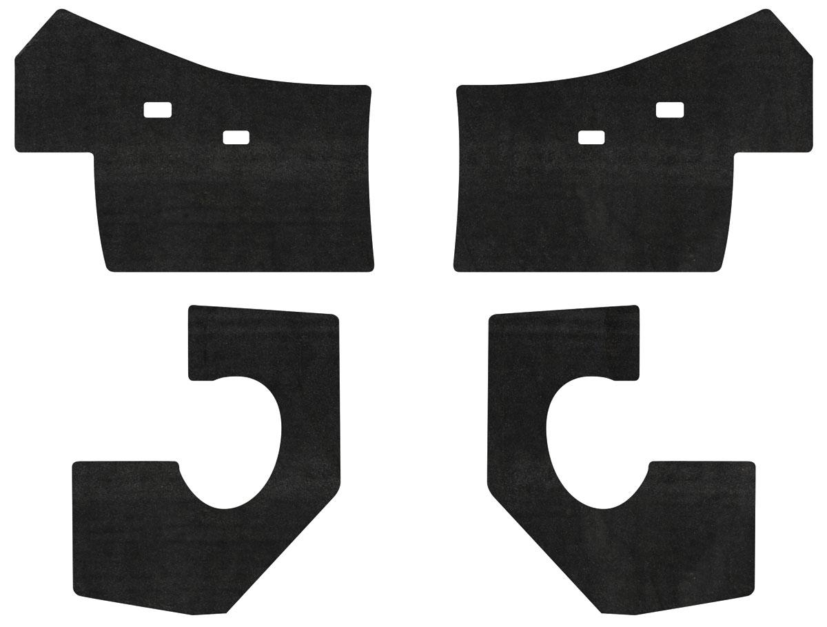 Insulation Kit, Cowl Panel, 63-65 Riviera