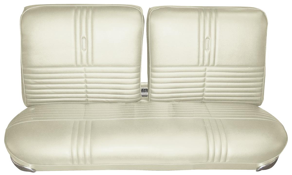 Seat Upholstery, 1968 Riviera, Custom, Rear