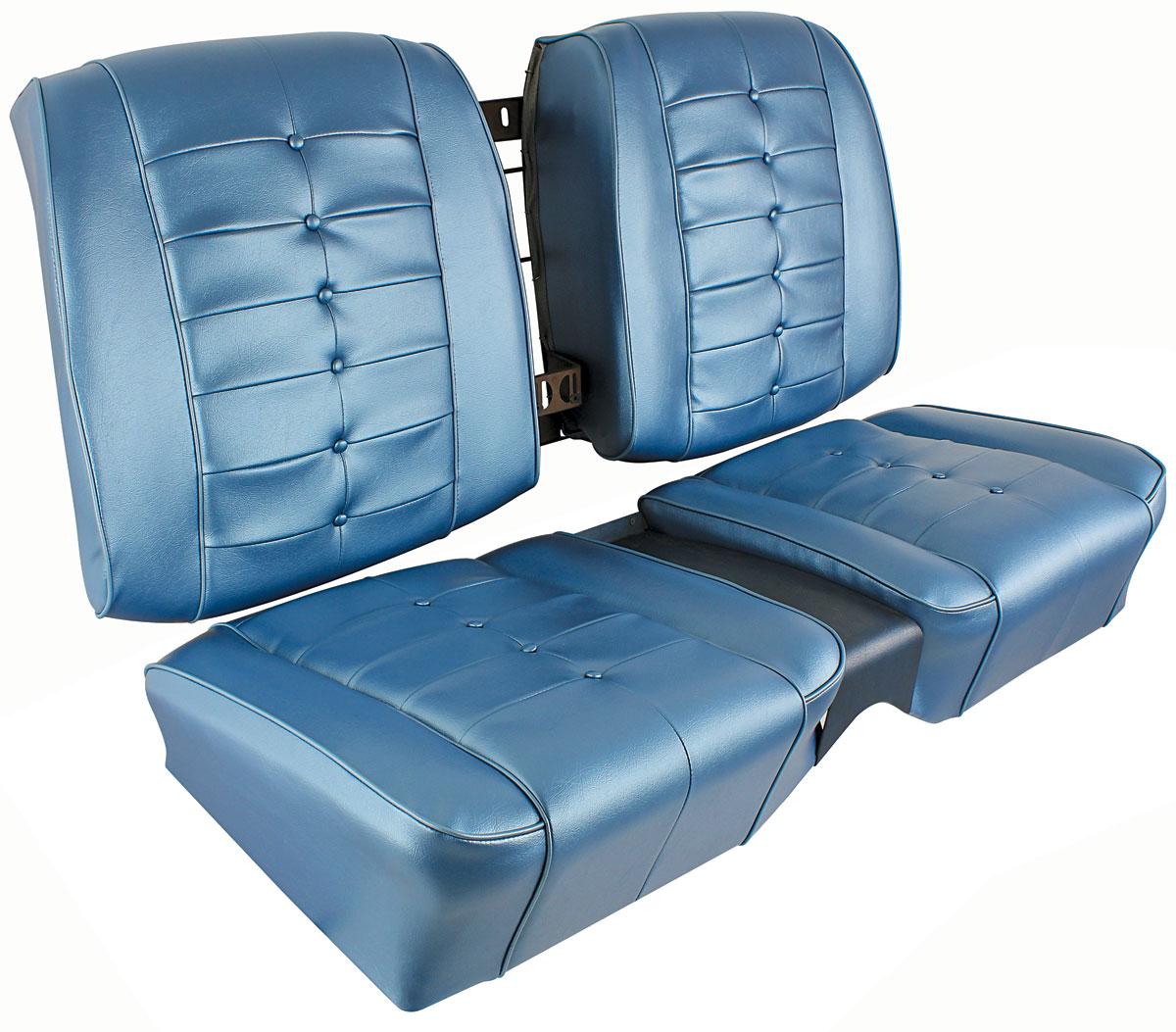 Seat Upholstery, 1963 Riviera, Rear Buckets