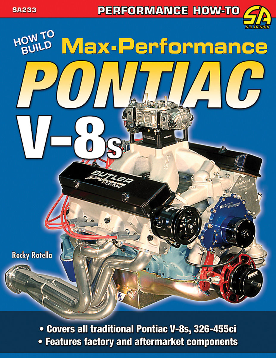 Book, How to Build Max-Performance Pontiac V8s