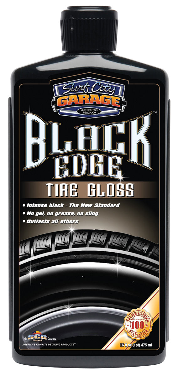 Dressing, Black Edge Tire Gloss, Surf City Garage, 16oz