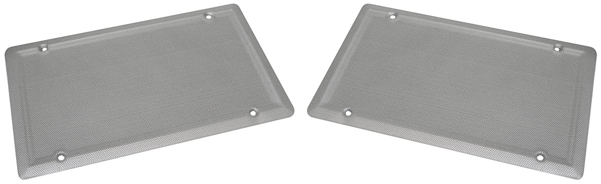 Grilles, Speaker, 64-72 A-Body, Package Tray, 6x9, Pair