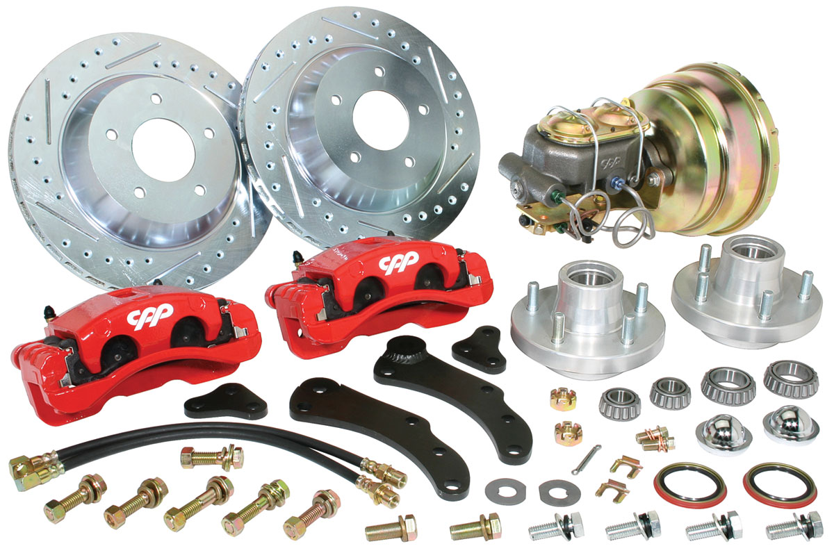 "Disc Brake Conversion Kit, 59-68 Cadillac, 13"" Rotor, Front"