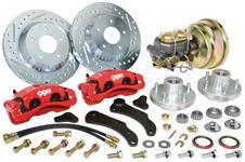 """Disc Brake Conversion Kit, 59-68 Cadillac, 13"""" Rotor, Front"""