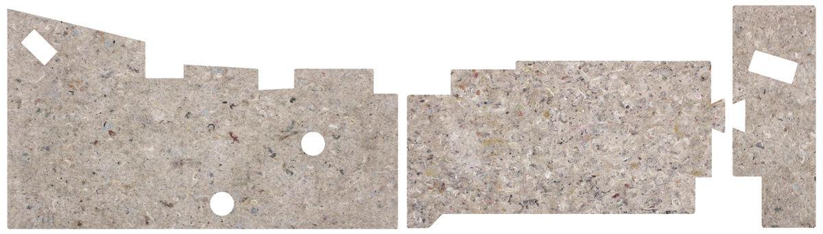 Insulation, Underdash, 68-72 A-Body