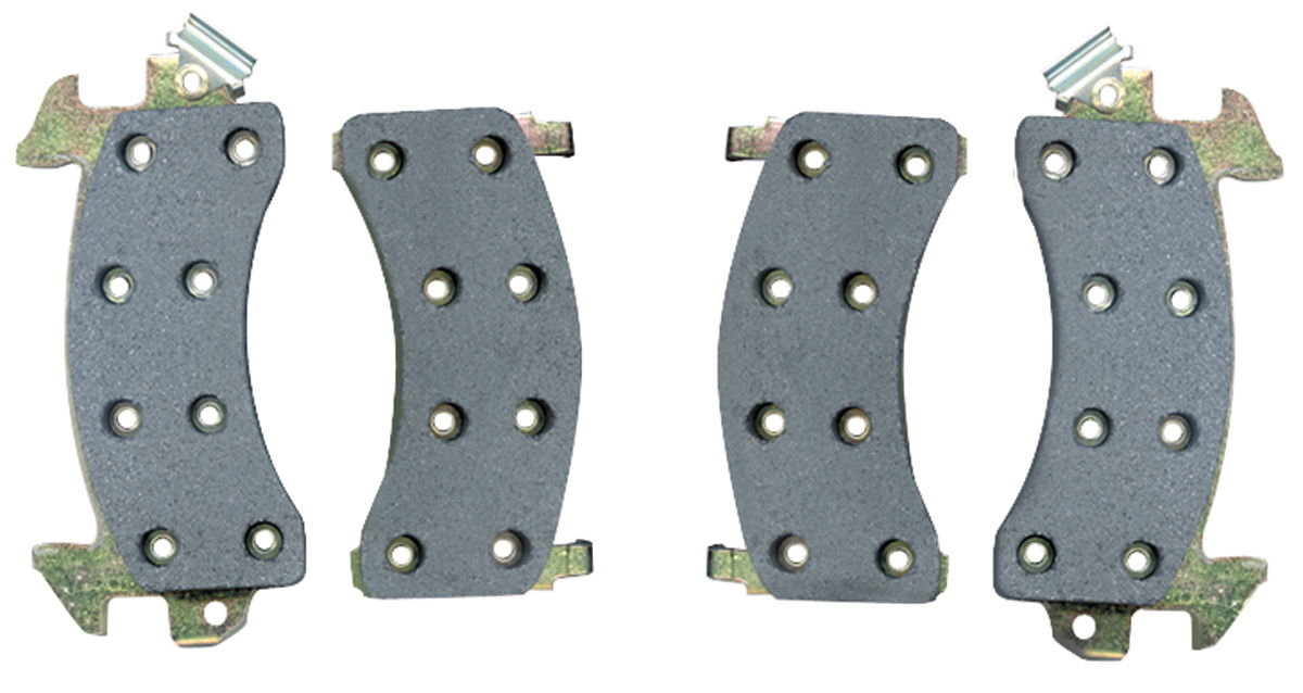 Brake Pads, Front Disc, 1978-87 G-Body