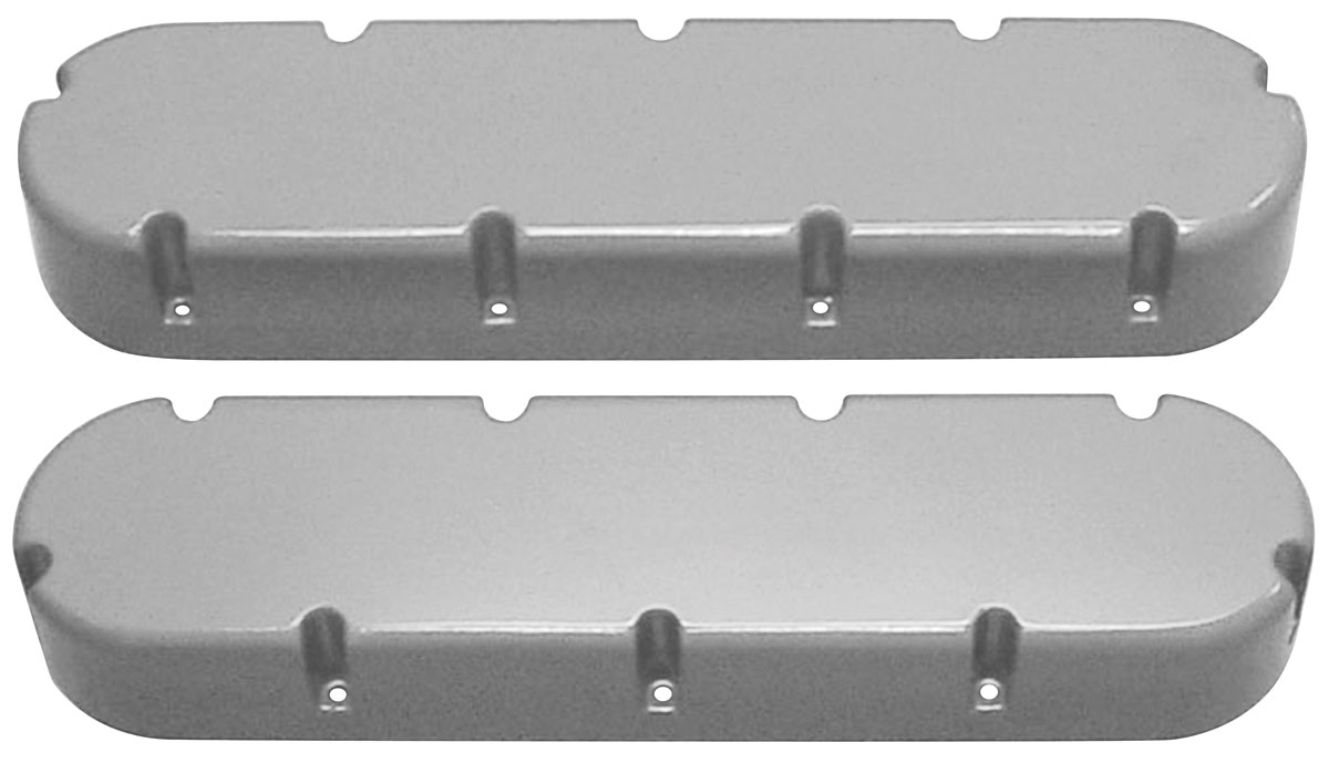 Valve Covers, 368-500 Cadillac, Flat Top
