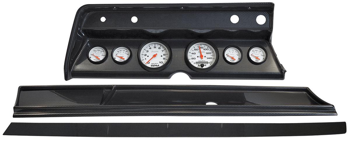 Gauge Conversion, Classic Dash, 66 Chevelle/El Camino, Phantom