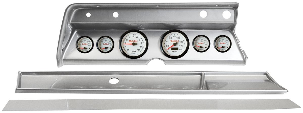 Gauge Conversion, Classic Dash, 67 Chevelle/El Camino, Concorse White