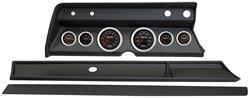Gauge Conversion, Classic Dash, 67 Chevelle/El Camino, Concorse Black