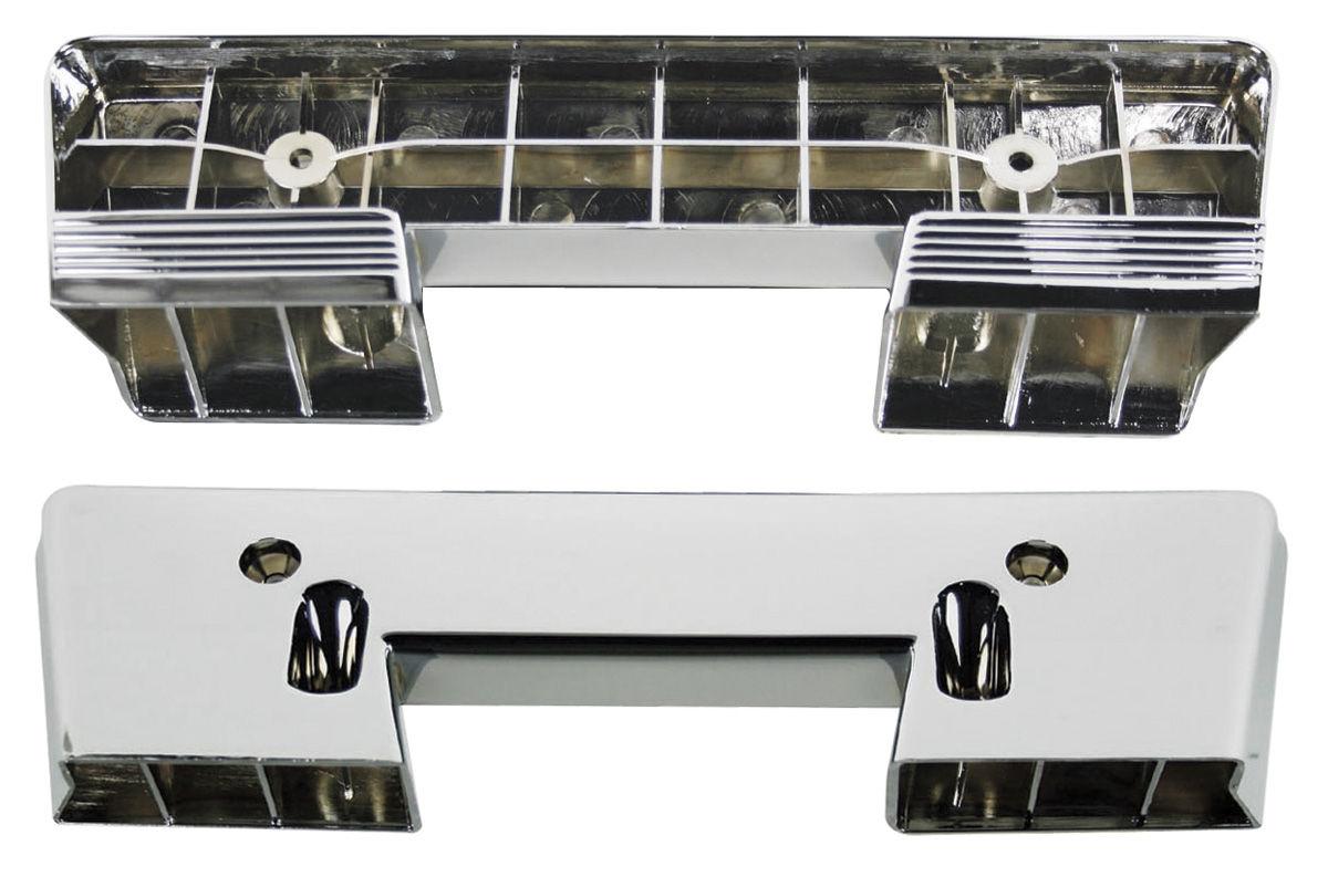 Armrest Base, Front, 1960-67 GM, Chrome