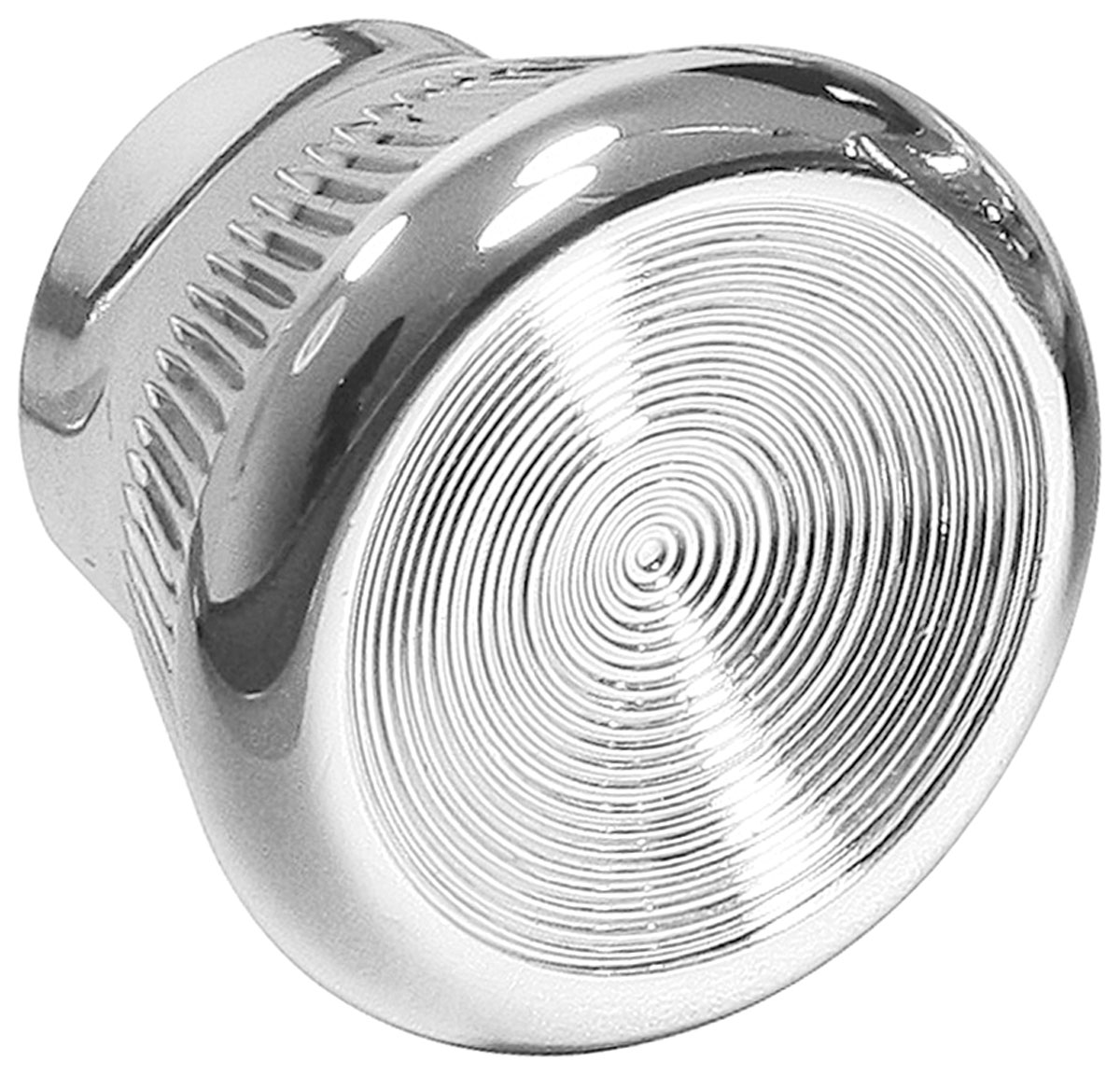 Dash Knob, Chrome, 1967-72 GTO/1969-72 Grand Prix