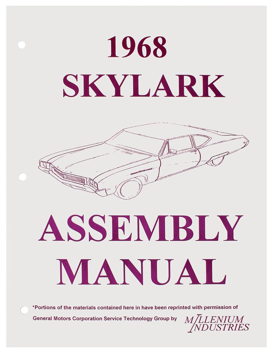 Assembly Manual, 1968 Buick