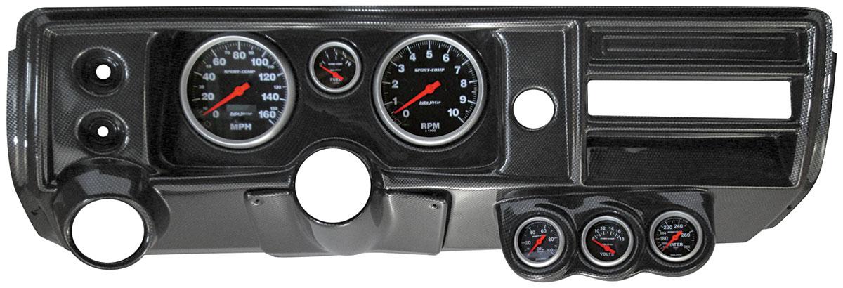 Gauge Conversion, Classic Dash, 68 Chevelle/El Camino, Astro, Sport Comp