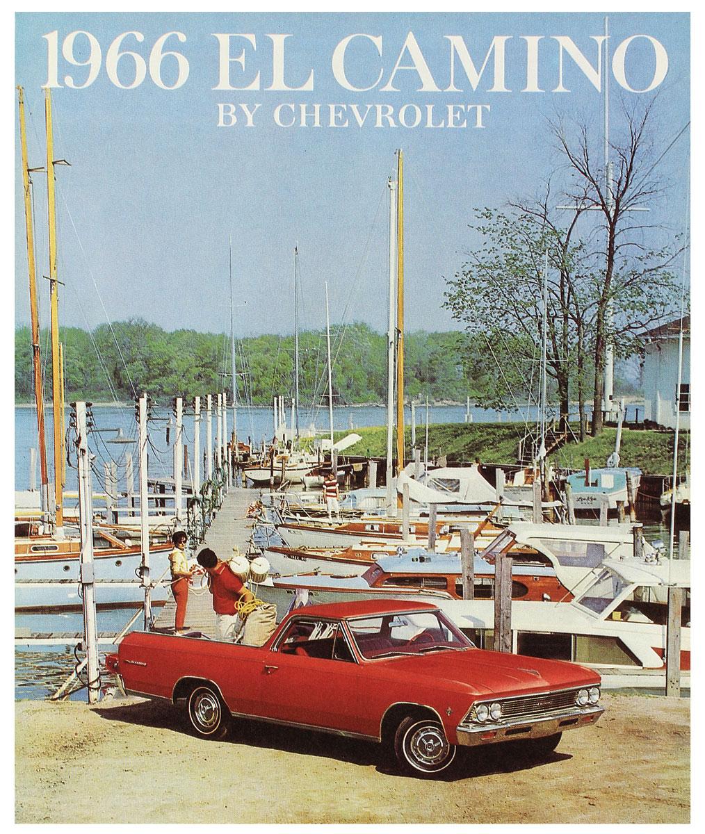 Color Sales Brochure, 1966 El Camino