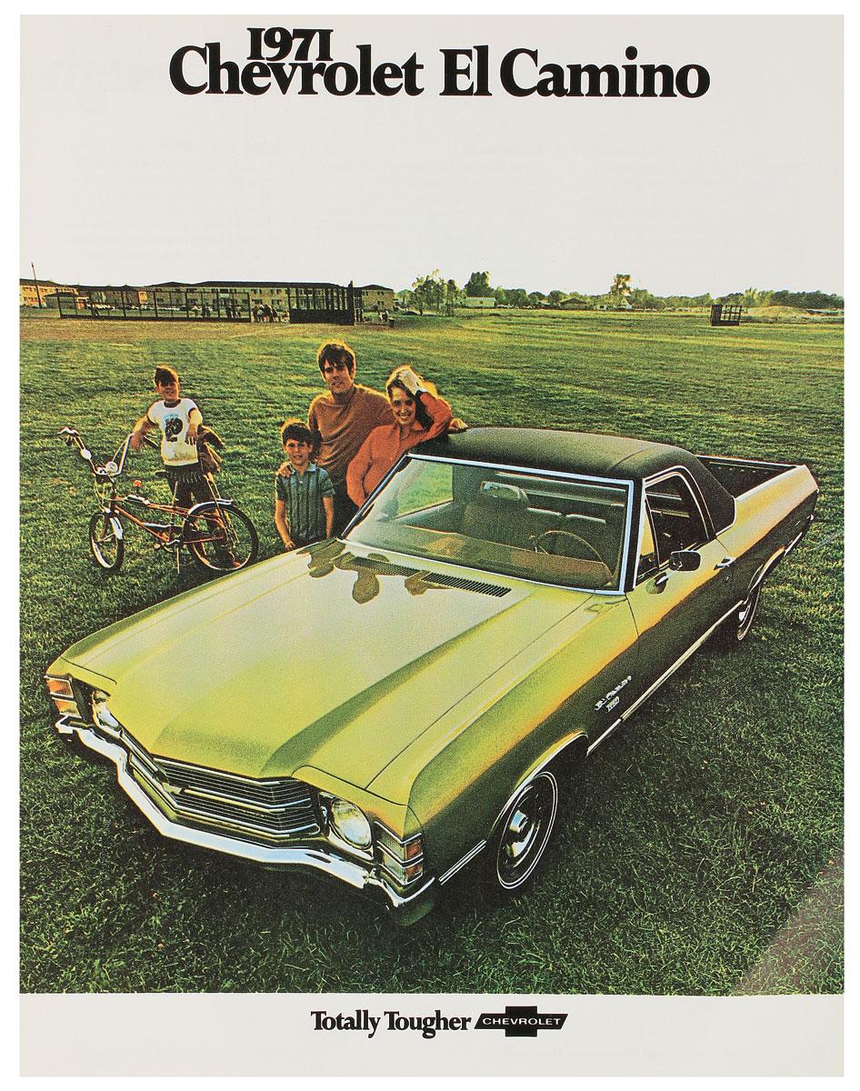 Color Sales Brochure, 1971 El Camino