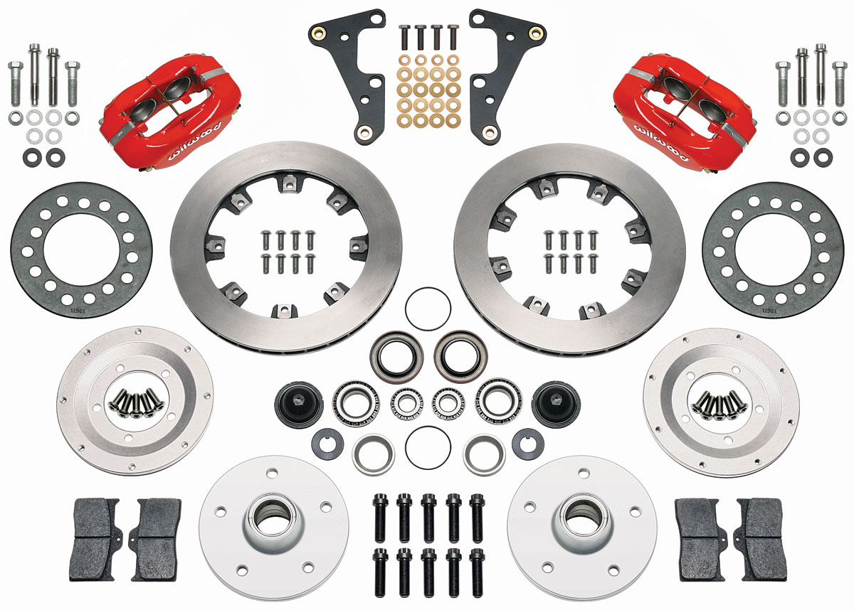 Wilwood Brake Kit, 54-55 Cadillac, Dynalite, 11.75