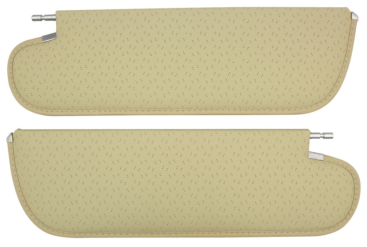 Sun Visors, Perforated, 1971-72 A-Body, 1-Pin