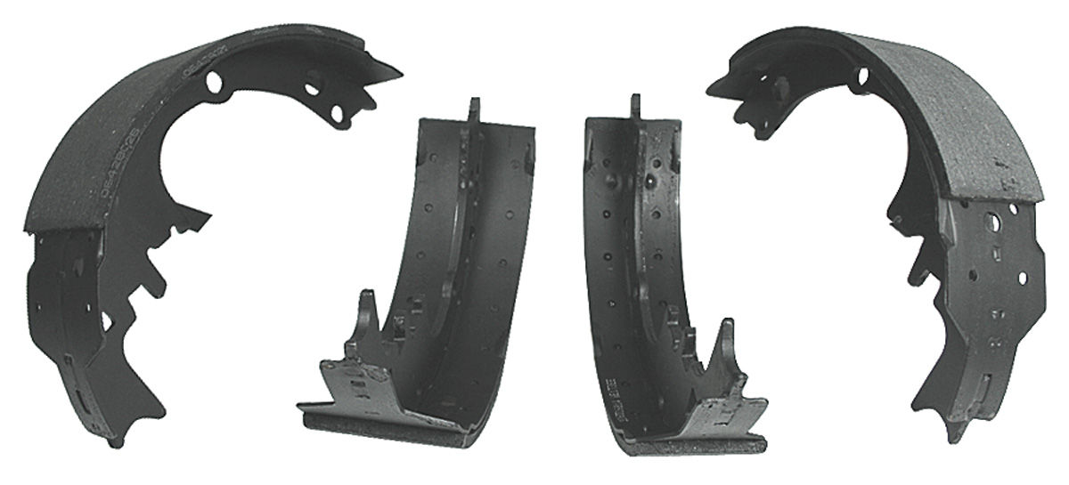 Brake Shoes, Front Drum, 1964-72 CH/EC/MC/G/T/L/GP