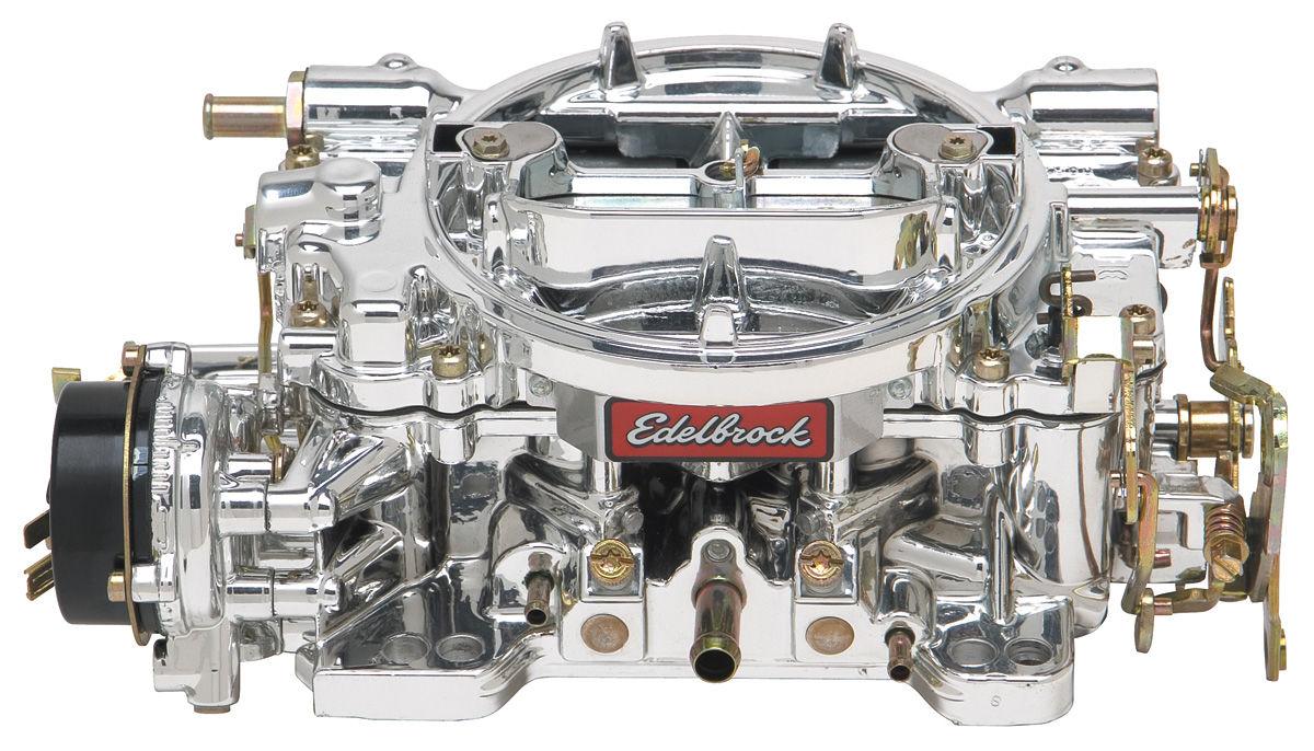 Carburetor, Performer, Edelbrock, W/ Endurashine Finish, Electric Choke