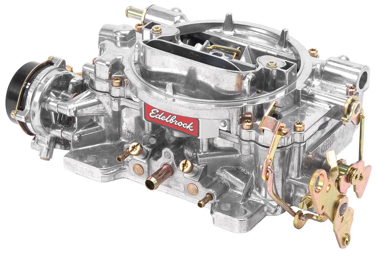 Carburetor, Edelbrock, 600 CFM, Performer, Electric Choke