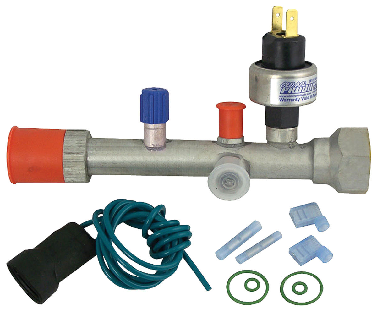 POA Valve Upgrade Kit, 1965-73, R134A