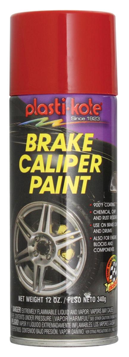 Paint, Caliper Hi-Heat, Red, 12-oz.