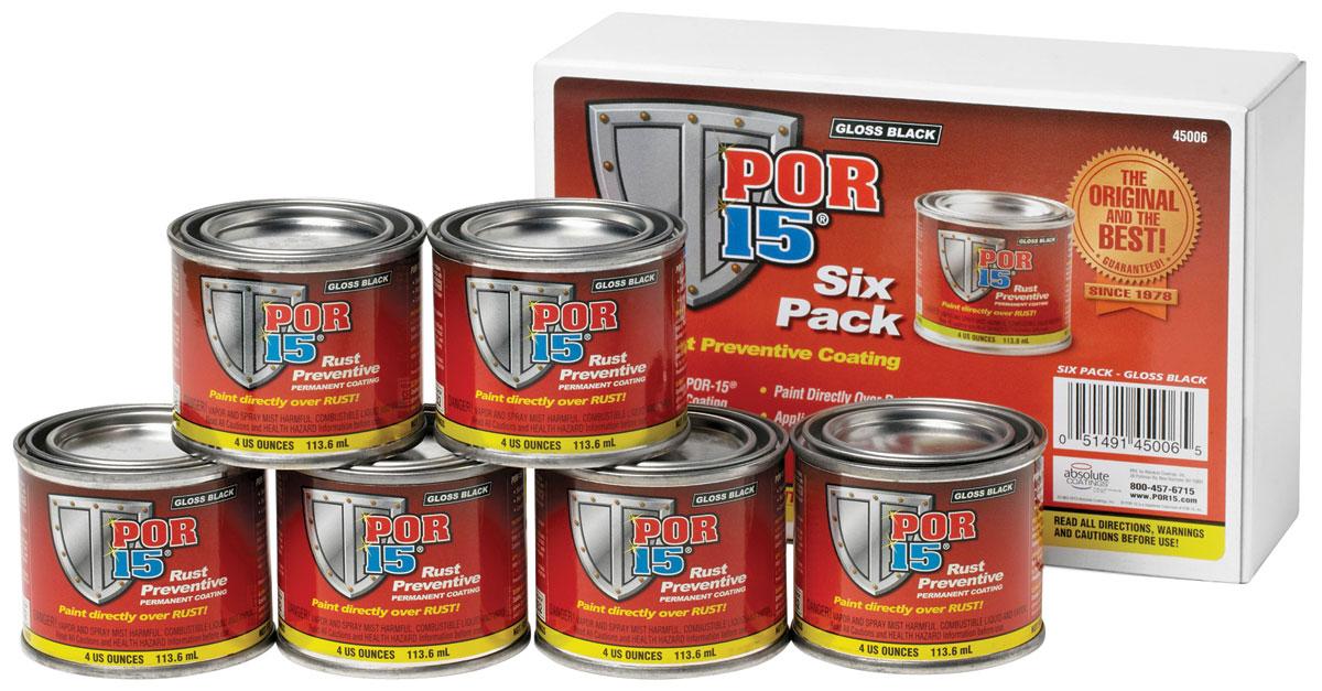 Paint, Six Pack, POR-15