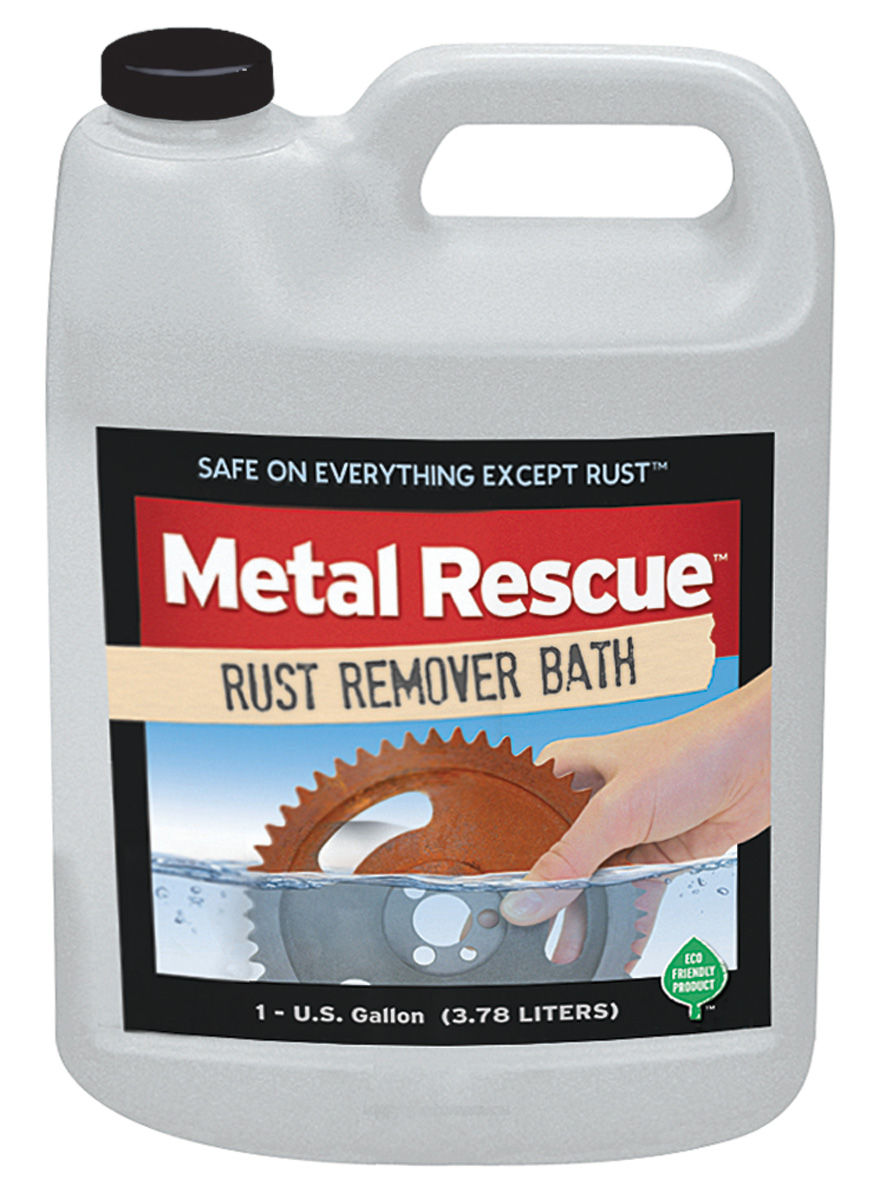 Rust Removal Solution, Metal Rescue, 1 Gallon