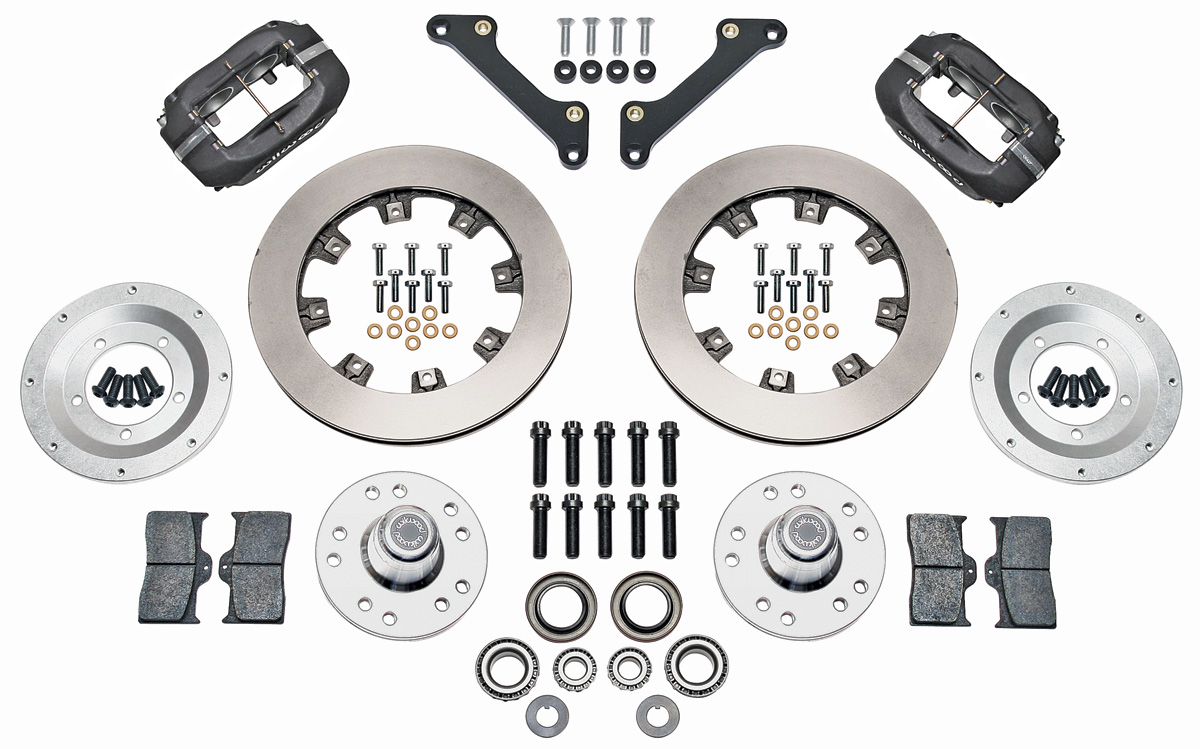 Wilwood Brake Kit, 1973-77 A-Body, Dynalite Front, 12