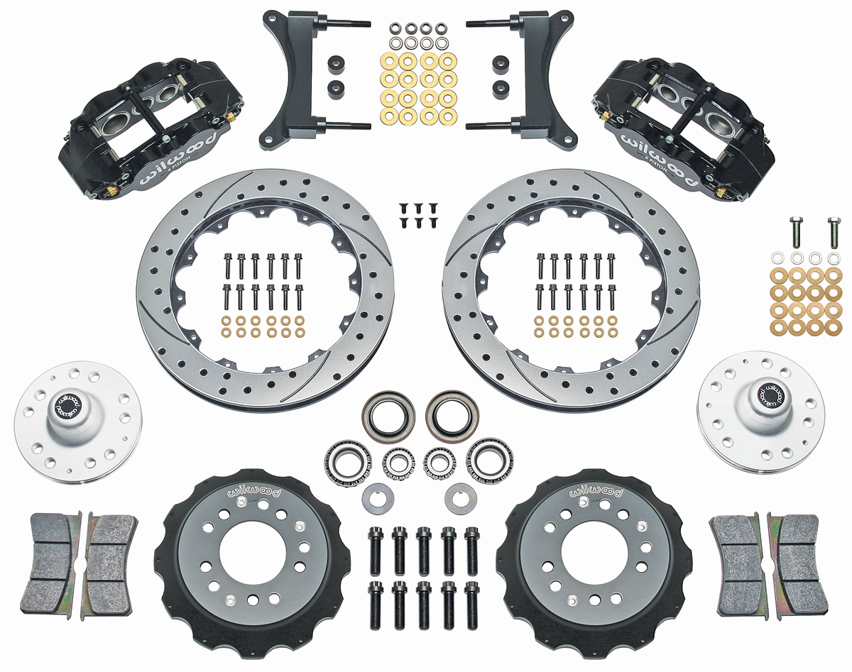 Wilwood Superlite Brake Kit, 1979-88 G-Body, 13