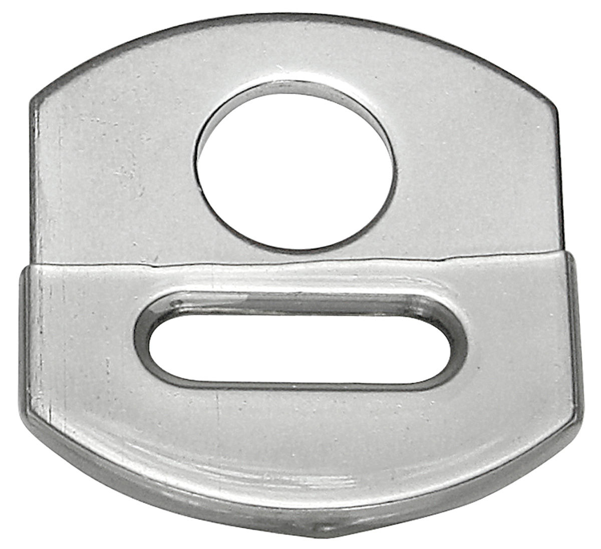 Anchor Plate, Seat Belt, 1968-74 GM, Stainless Steel