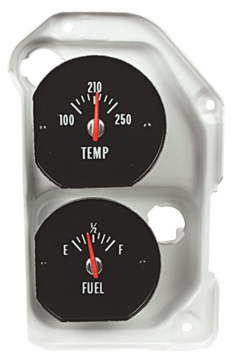 Gauge, Temperature/Fuel, 1971-72 CH/EC/MC Super Sport