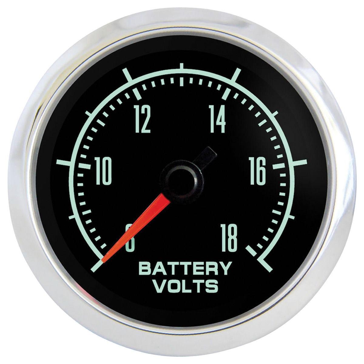 "Gauge, Voltmeter, Marshall Instruments, Retro Muscle, 2-1/16"""