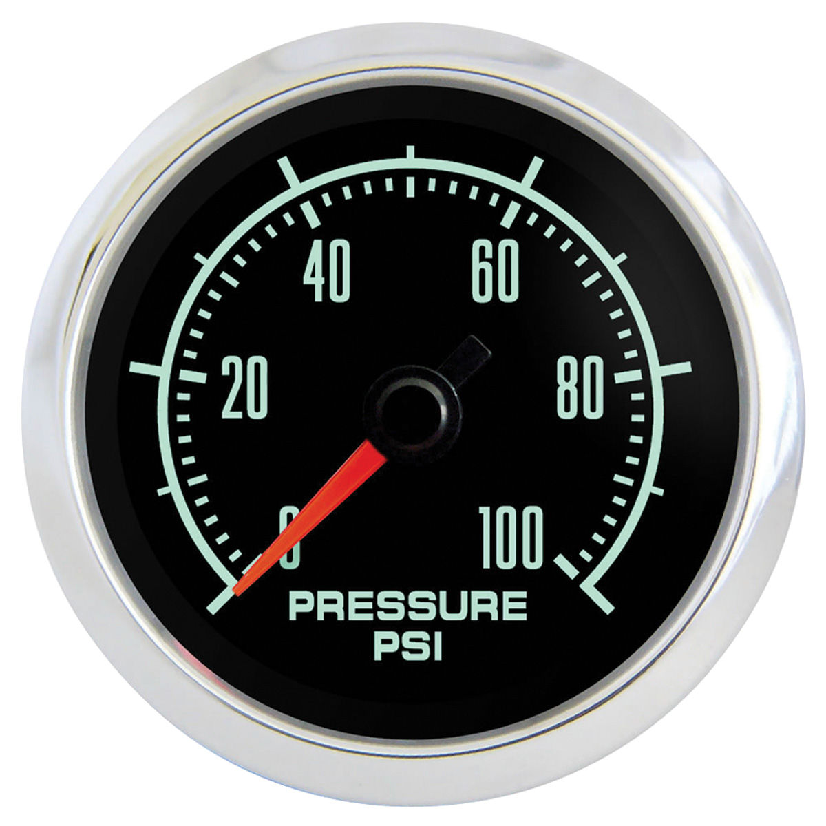 Gauge, Oil Pressure, Marshall Instruments, Retro Muscle, 2-1/16