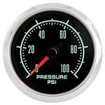 "Gauge, Oil Pressure, Marshall Instruments, Retro Muscle, 2-1/16"""