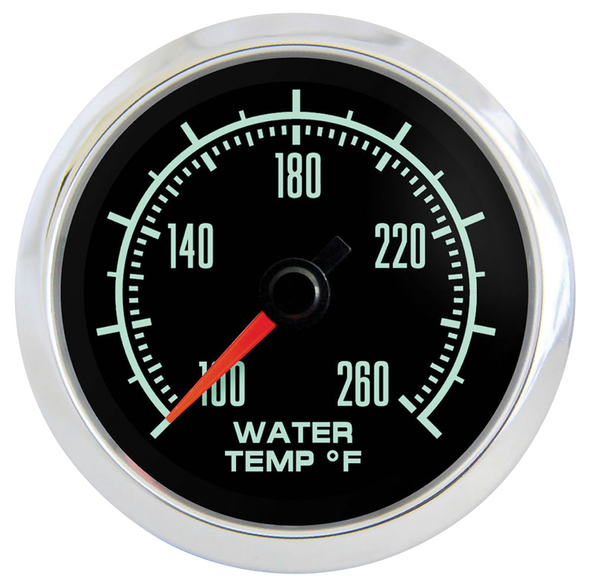 Gauge, Water Temperature, Marshall Instruments, Retro Muscle, 2-1/16