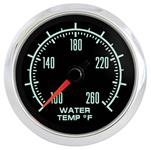 """Gauge, Water Temperature, Marshall Instruments, Retro Muscle, 2-1/16"""""""