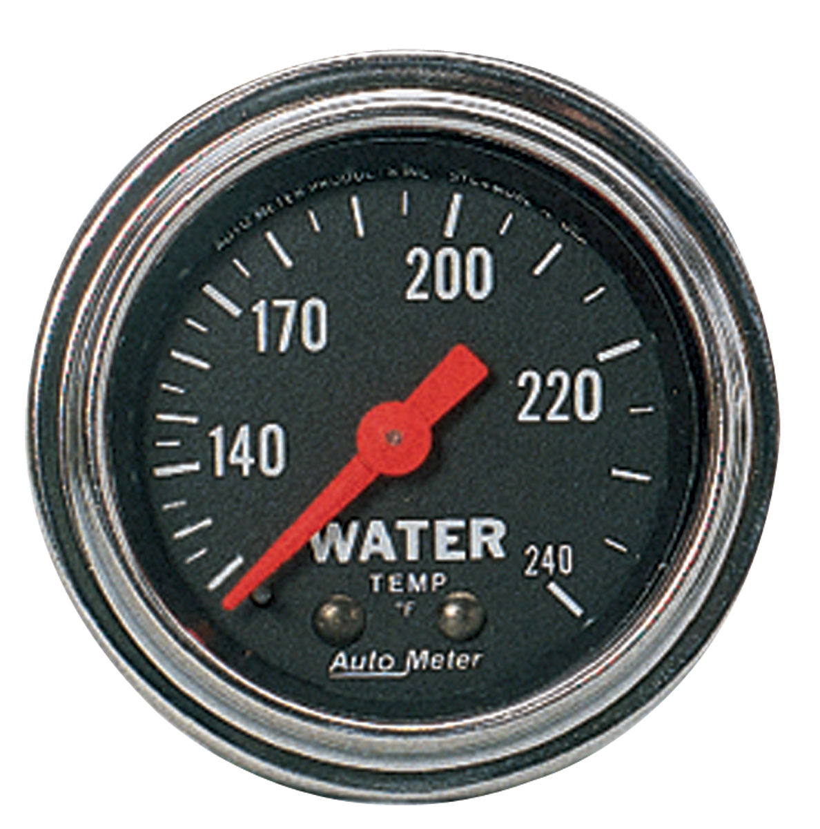 Gauge, Water Temp, Auto Meter, Traditional Chrome, 2-1/16