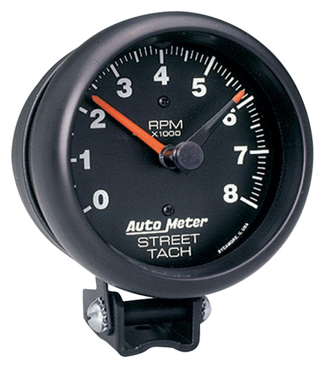Gauge, Tachometer, Auto Meter, Z-Series, 3-3/4