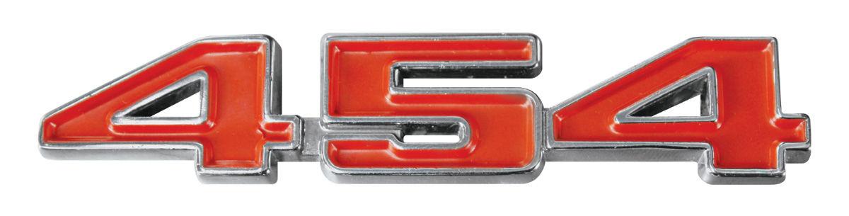 Emblem, Fender/Tailgate, 1970-74 Chevelle/El Camino, 454