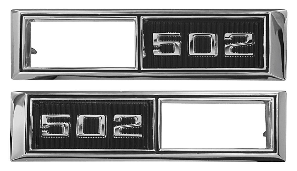 Bezel, Marker, 1968 Chevelle/El Camino, Front, 502
