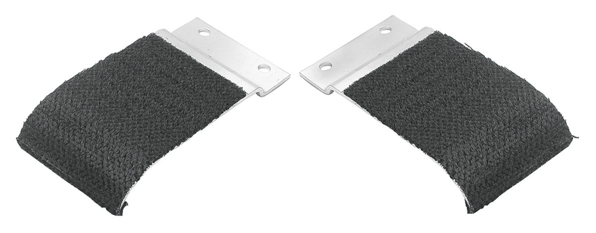 Window Guides, Door, 1968-72 A-Body Coupe/Convertible